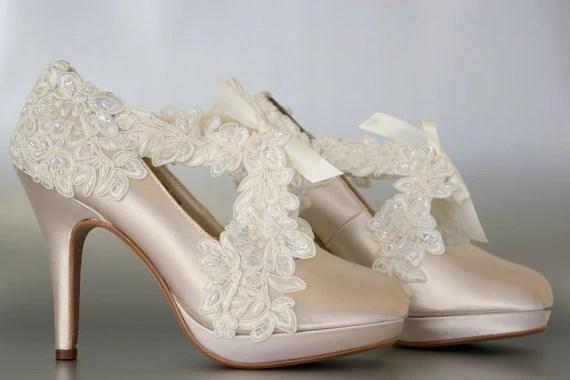 Champagne Bridal Shoes