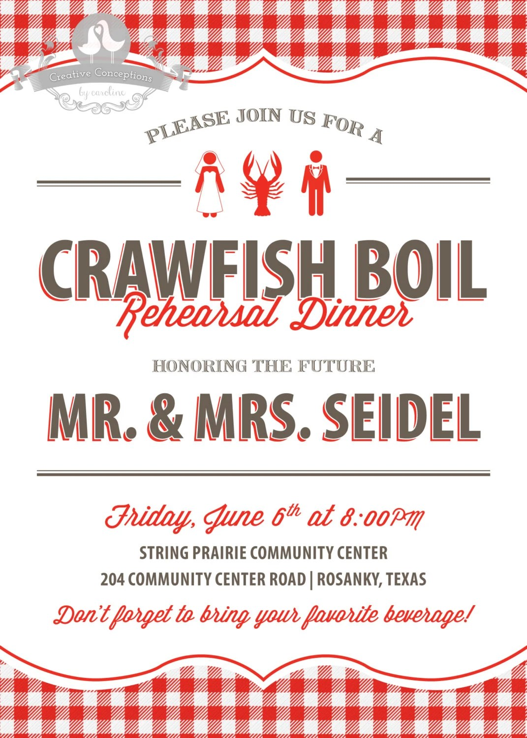 And Crawfish Boil Baby Shower