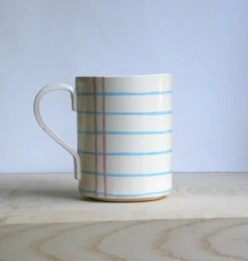 Notebook Paper Cup on Ceramic