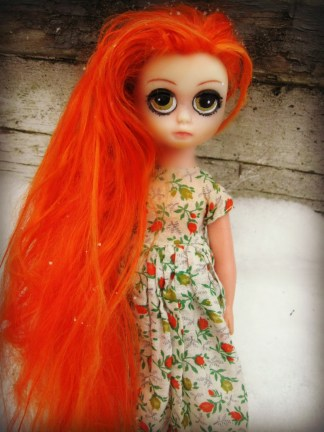Blythe Doll - Alpaca Reroot by Cindy Sowers