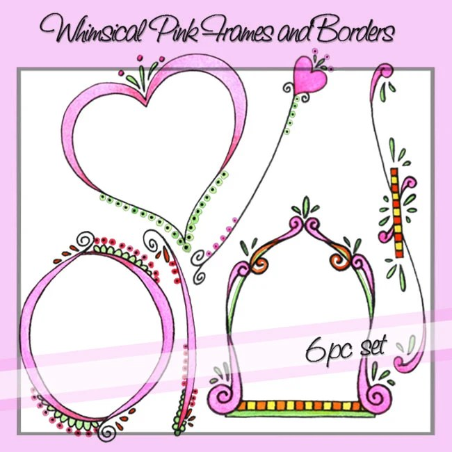 Whimsical Borders And Frames