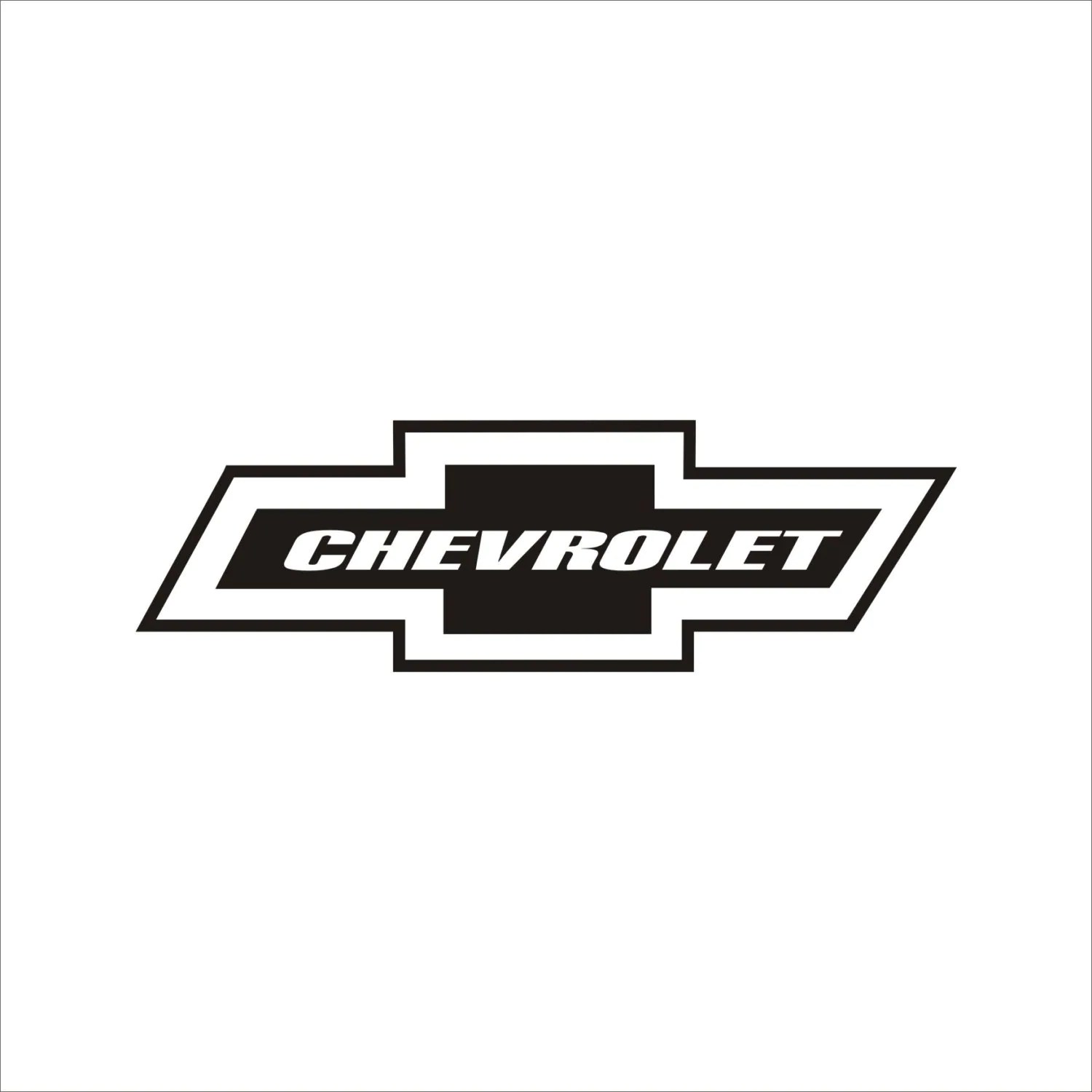 Chevy Bow Tie Decal By Qualitydecals On Etsy