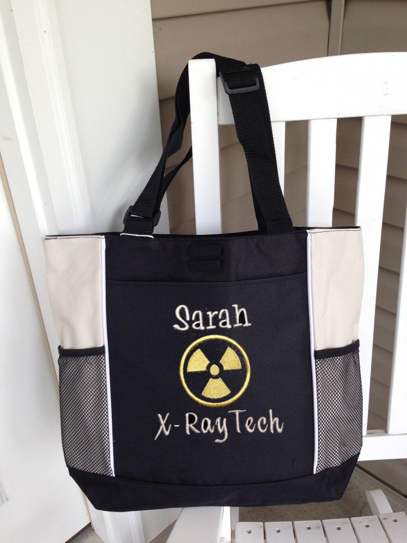 Personalized Tote Bag X Ray Xray Tech Rad Radiology Technician