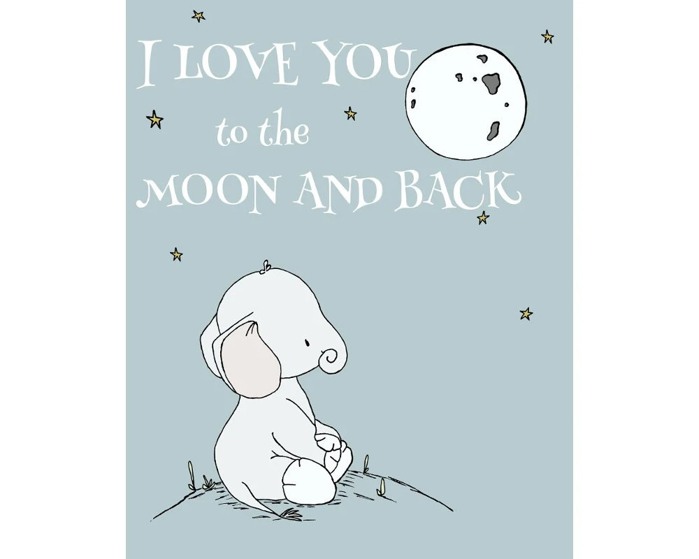 Love You Moon And Back Quote