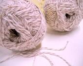 Rustik lin yarn, Cotton Flax Blend Vintage Yarn, Lanas Margarita, Knitting Notions - StitchKnit