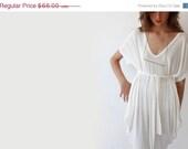 25 White tunic , Oversize mini dress. - BLUSHFASHION