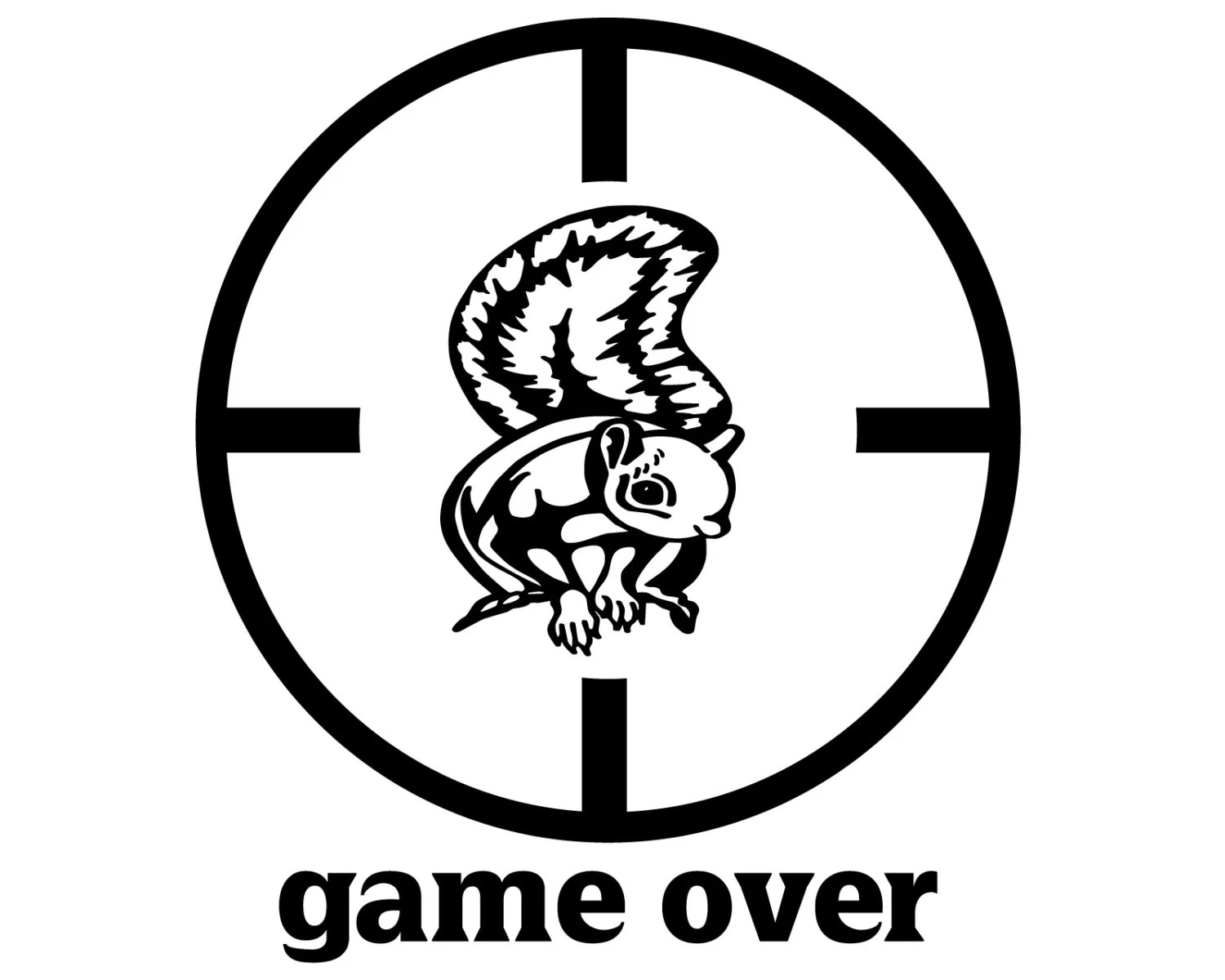Squirrel Hunter Decal Squirrel Hunting Sticker Small Game