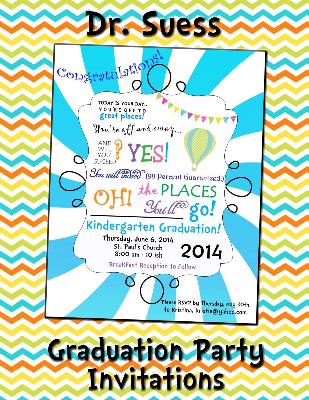 Places Print Graduation Invitations