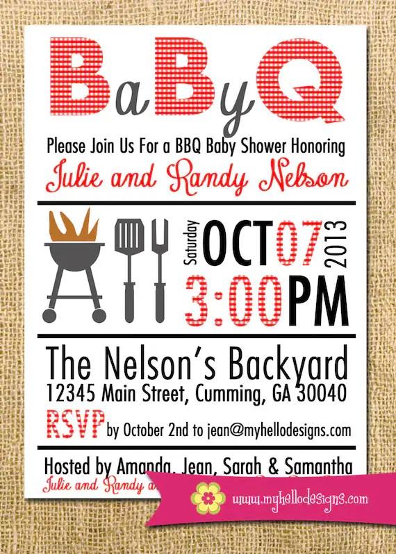 Couple Baby Shower Invitation Wording