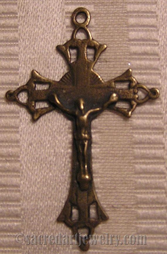 1 1 12 Inch Sterling Silver Crucifix