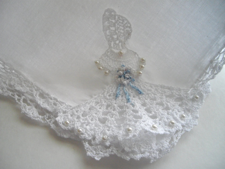 Martha Stewart Wedding Handkerchief