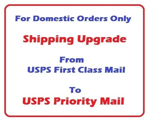 Shipping Upgrade. USPS Priority Mail. by ABrilliantImpression