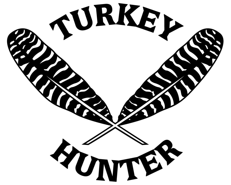Turkey Hunting Vinyl Sticker Turkey Hunter Decal Turkey