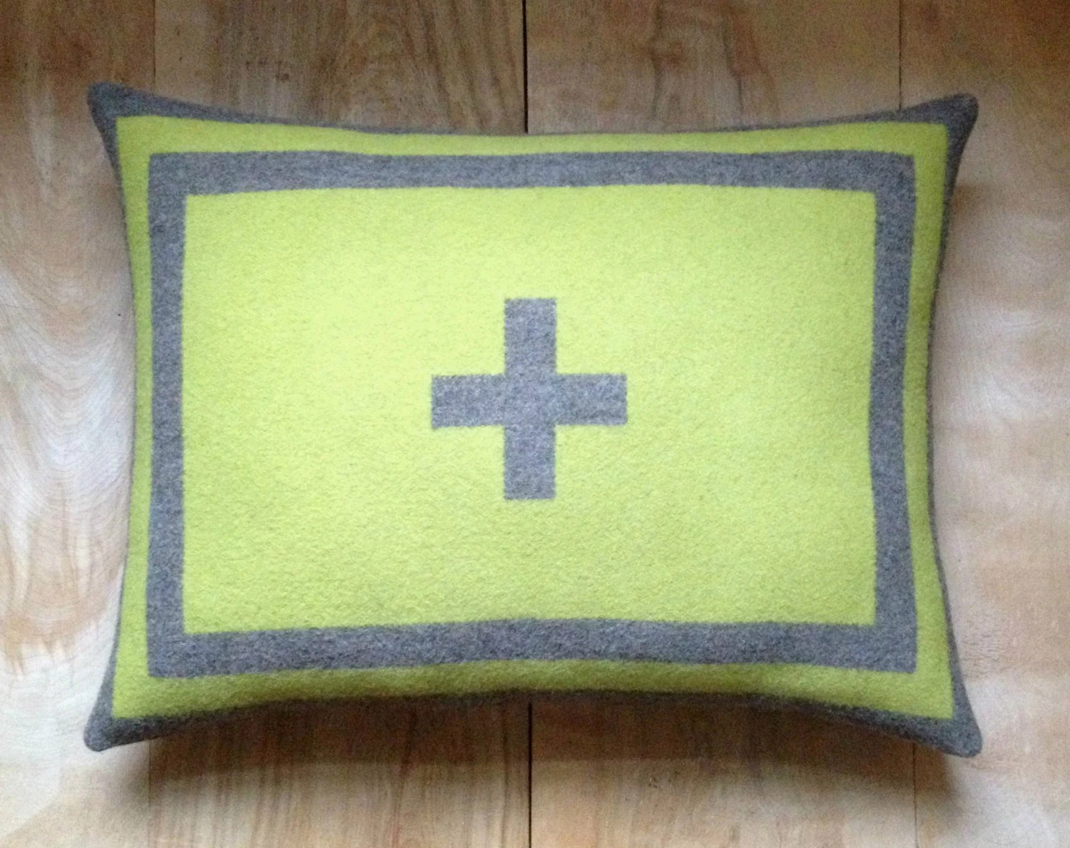 Pillow - Pendleton Wool Fabric - Native Geometric Cross Contemporary - RobinCottage
