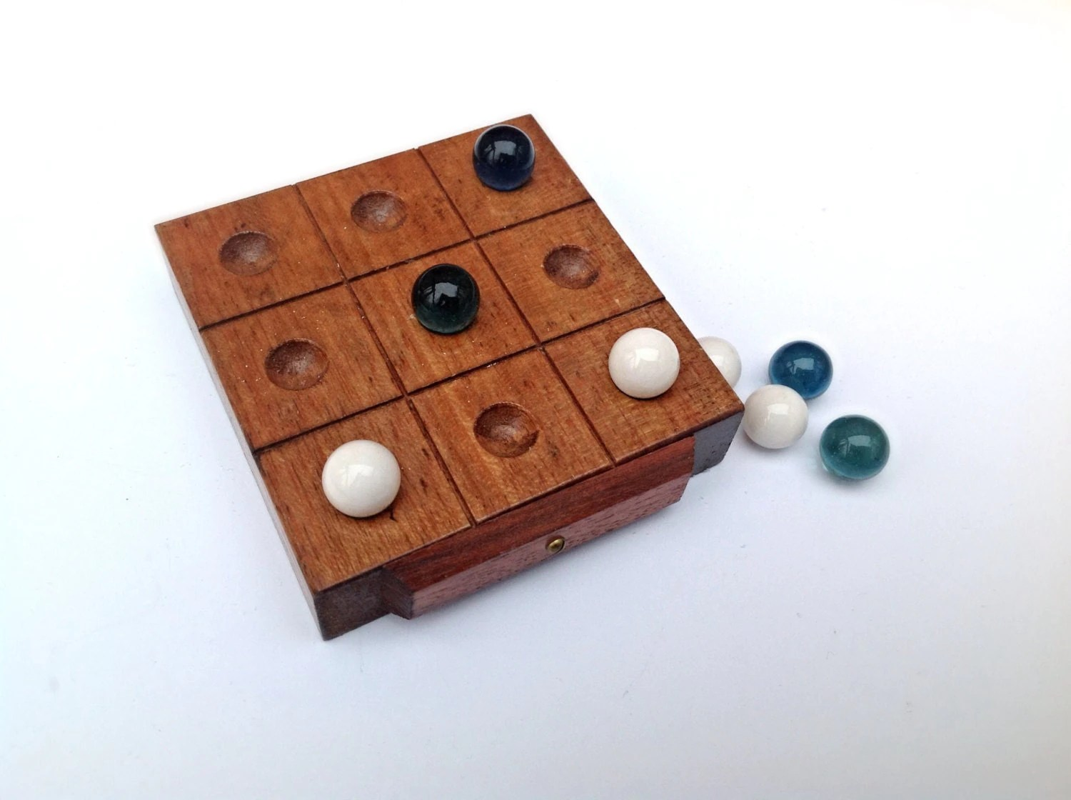 Marbles Wooden