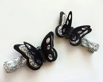 popular items for white butterfly bows on etsy