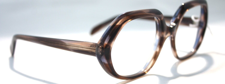 Glasses Frame Made In France : Vintage 1970 s Essel Tortoise Shell Large Frame Glasses ...