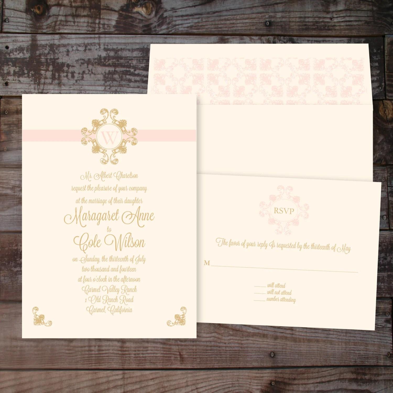 diy wedding invitations monogram - 28 images - diy monogram envelope ...