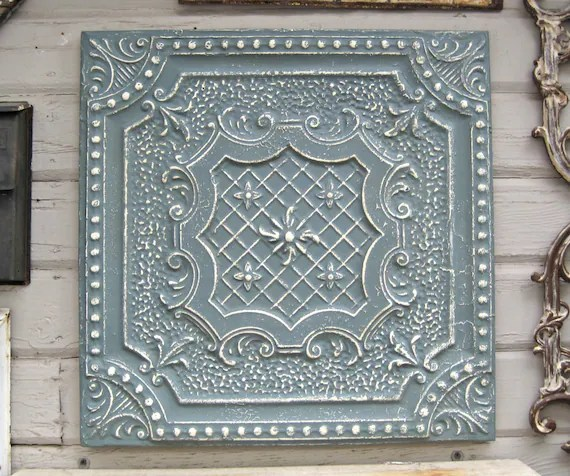 Salvaged Tin Ceiling Tiles