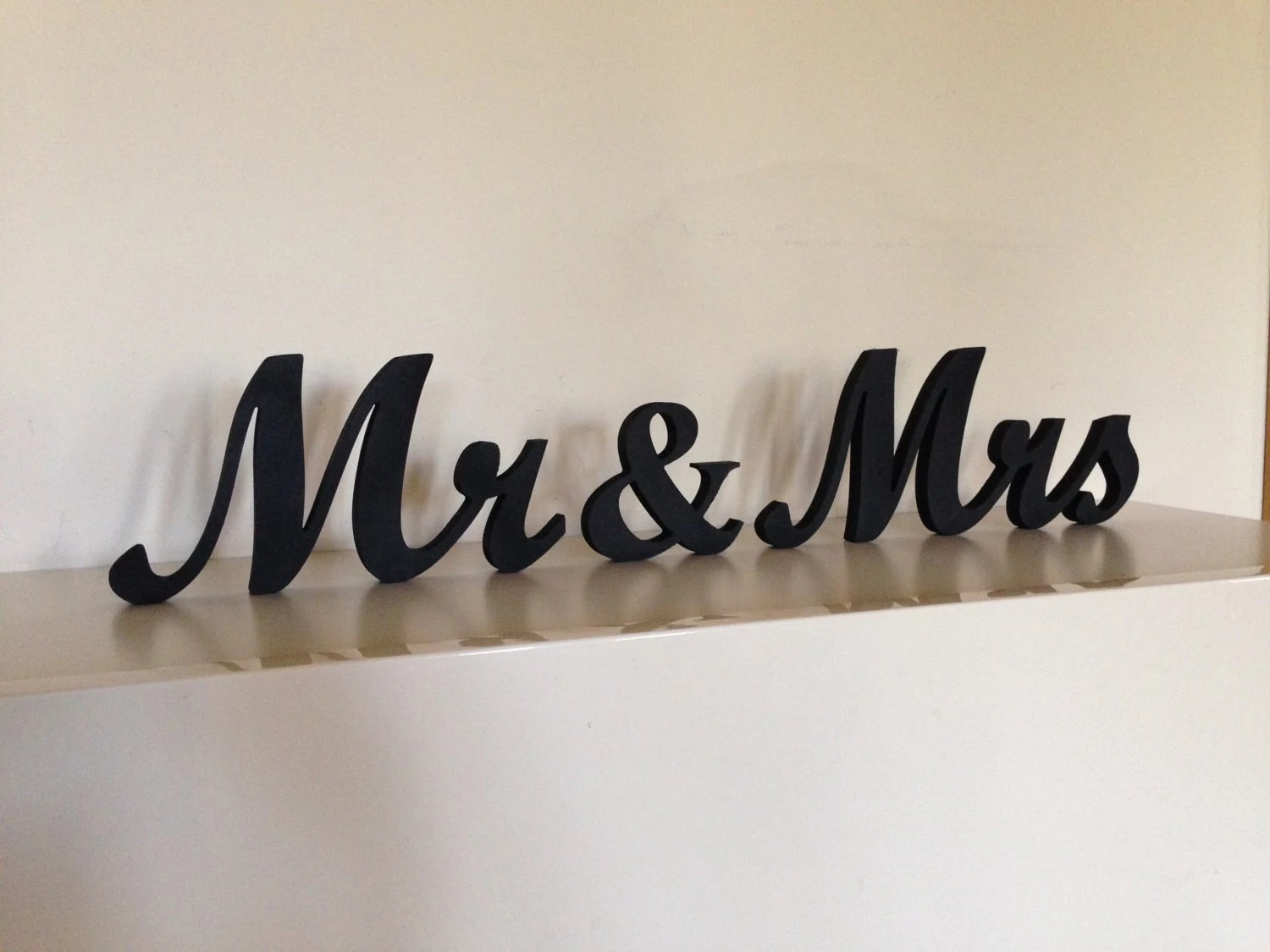 Mr. &. Mrs.. Wood Sign Wedding Decor Mr. And Mrs. By SunFla