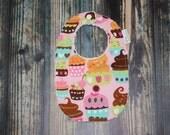 Baby girl cupcake absorba...