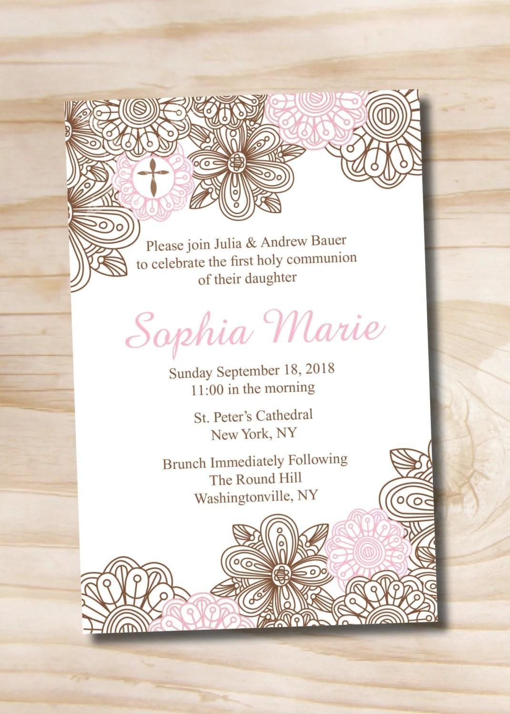 Baptism Invitations Evite