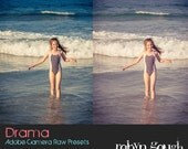 ACR Presets - 5 Drama Photography Presets for Photoshop Adobe Camera Raw