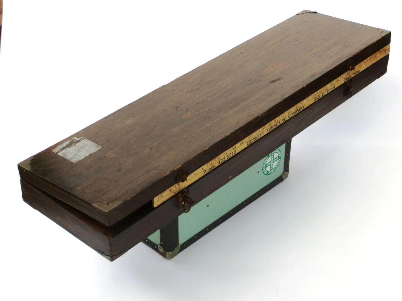 3.5' Long Carpenters Wooden Box: Large Sturdy Flat