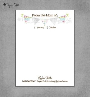 Counselor must haves: personalized note pads