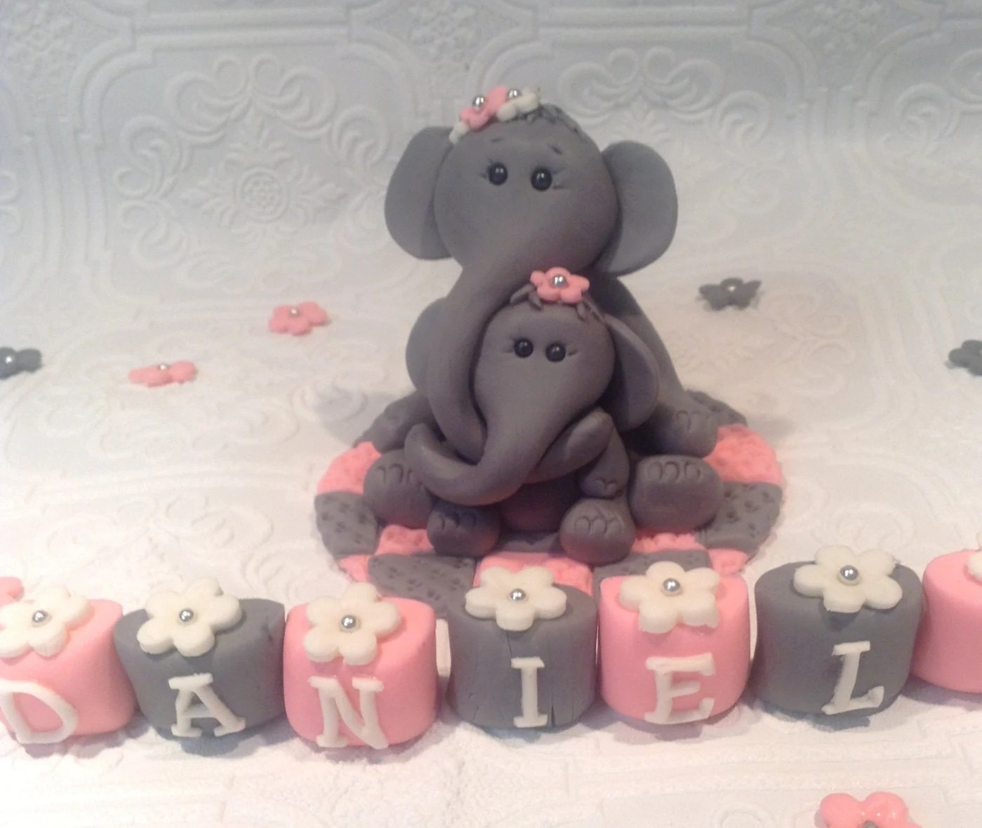Baby Shower Fondant Toppers