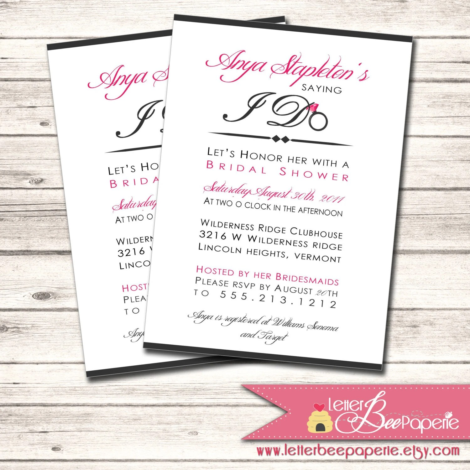 Order Personalized Invitations Online
