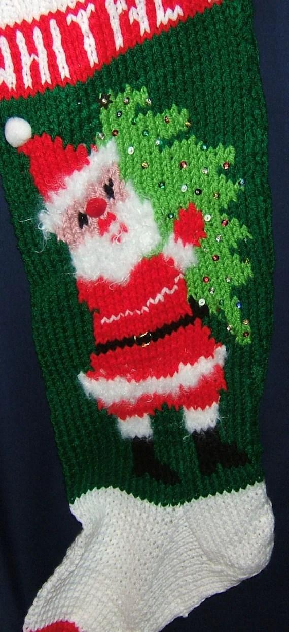 Christmas Make Sequins Stockings