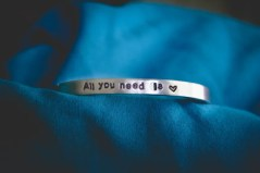 Hand-Stamped Personalized Bracelet