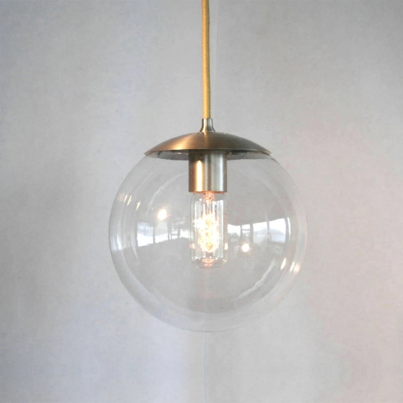 Mid Century Modern Globe Pendant Light
