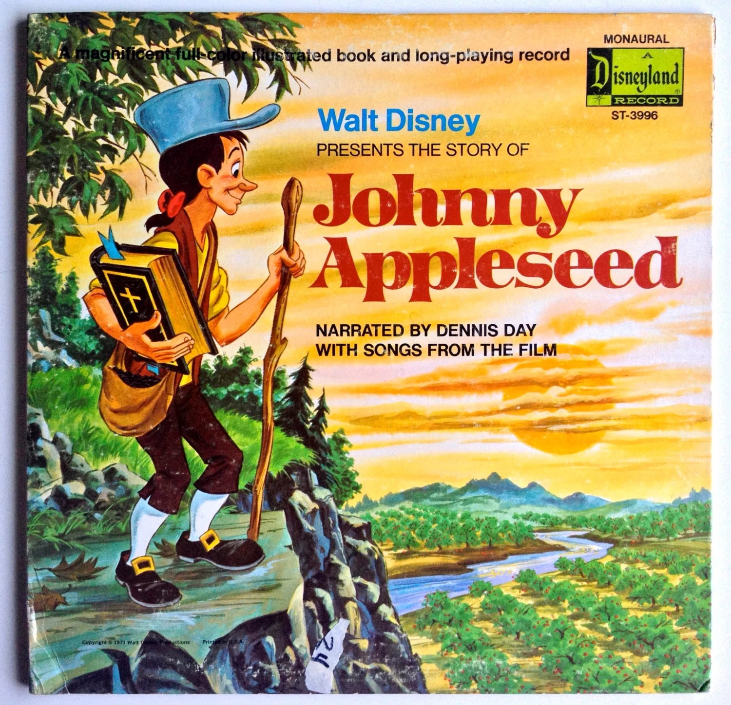 The Story Of Johnny Appleseed Lp Vinyl Record Album