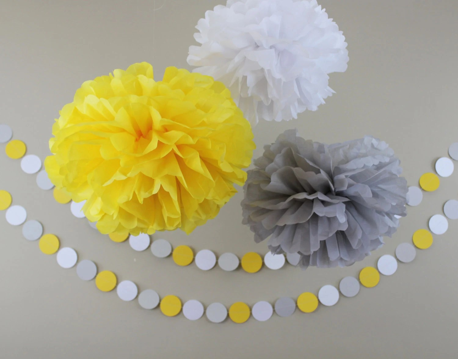 Gray And Yellow Bridal Parties
