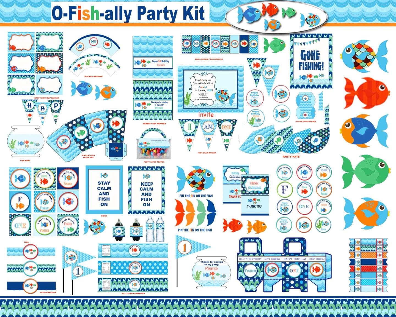 Rainbow Fish Party Pool Party Ocean Sea Life Nautical