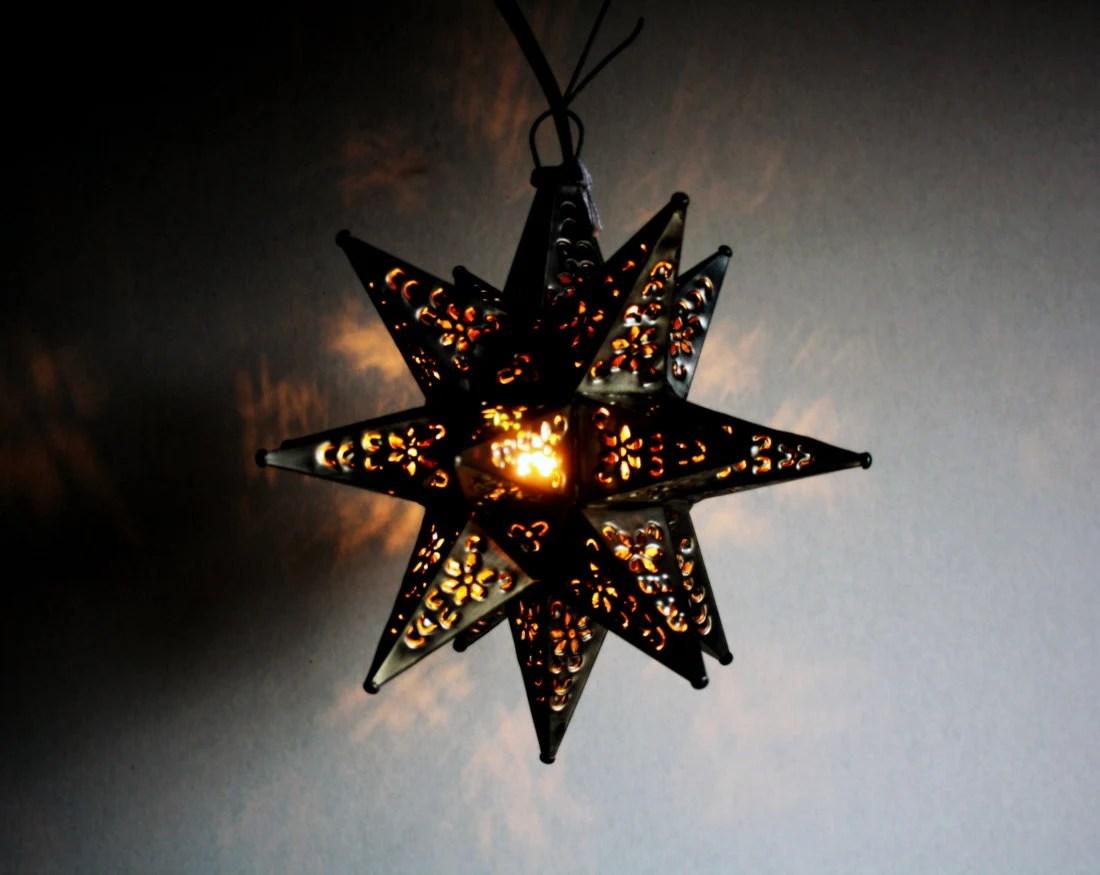 Moravian Star Pendant Light Fixture