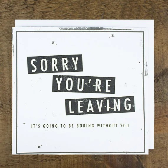 Funny Quotes About Co Worker Leaving