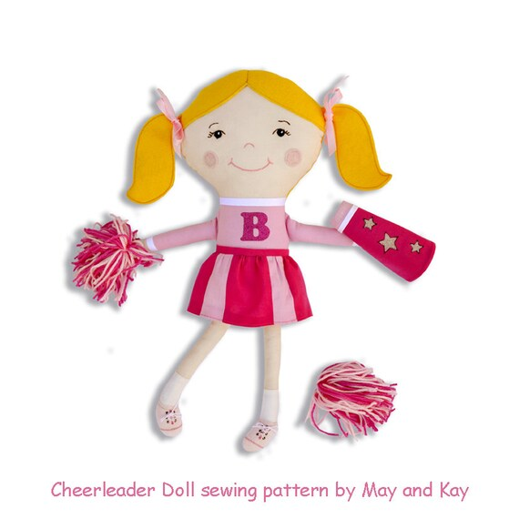 Cheerleader Paper Doll Patterns