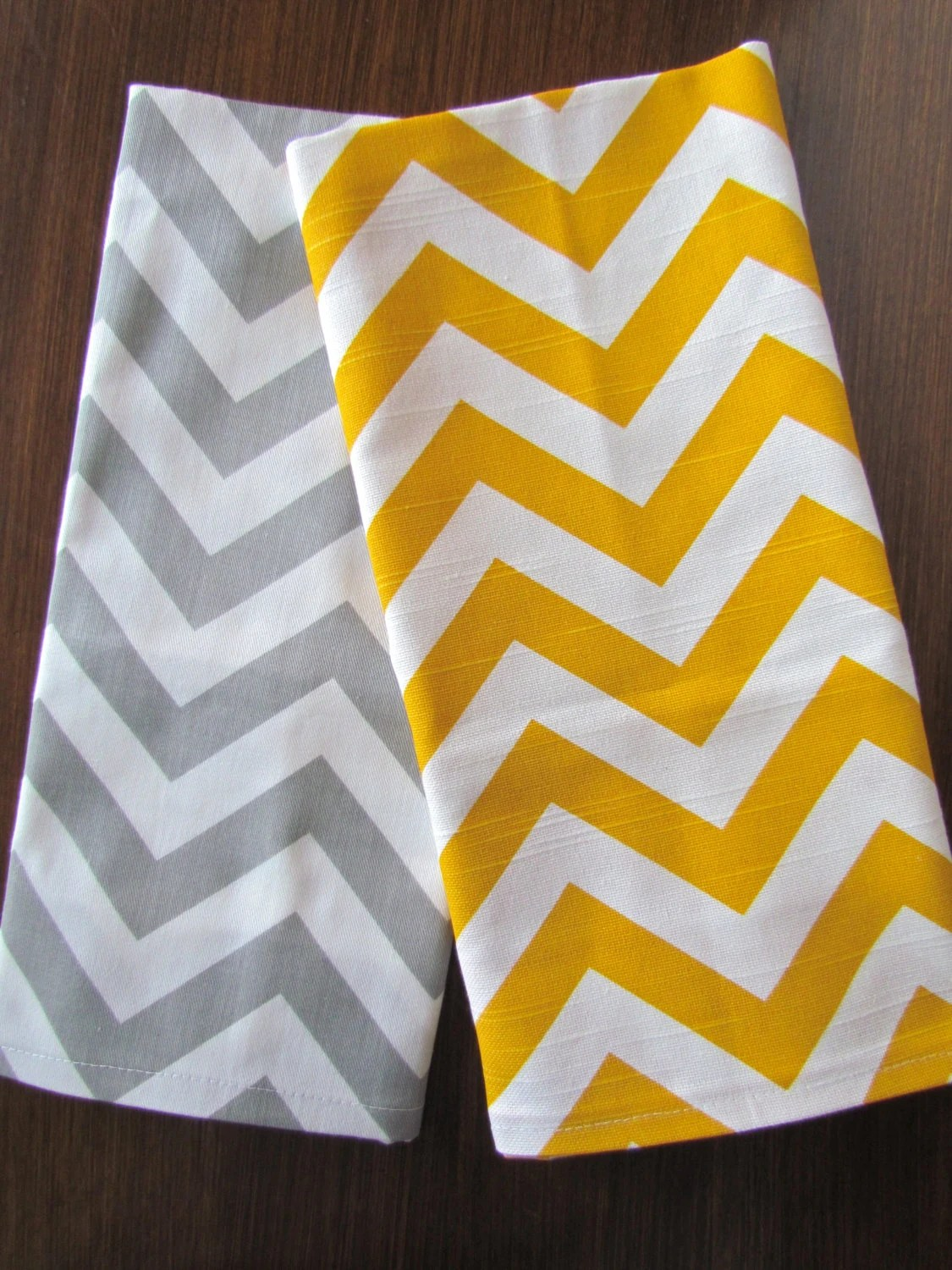 Yellow And Gray Kitchen Accessories