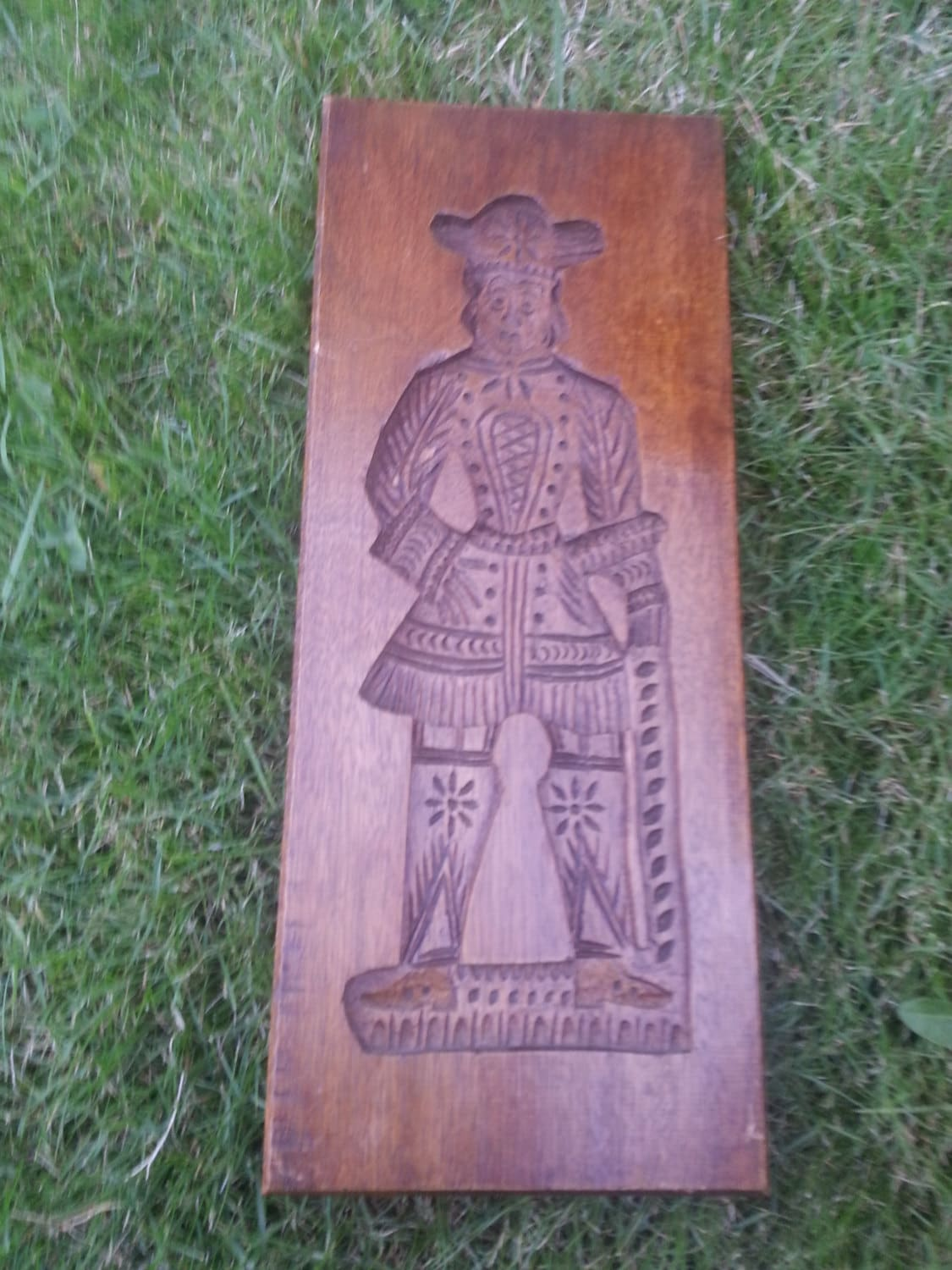 Antique Wooden Cookie Mold Gingerbread Speculaas
