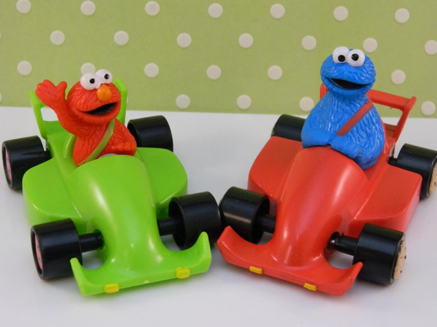Elmo And Cookie Monster Cake Topper Birthday Celebrate 1st