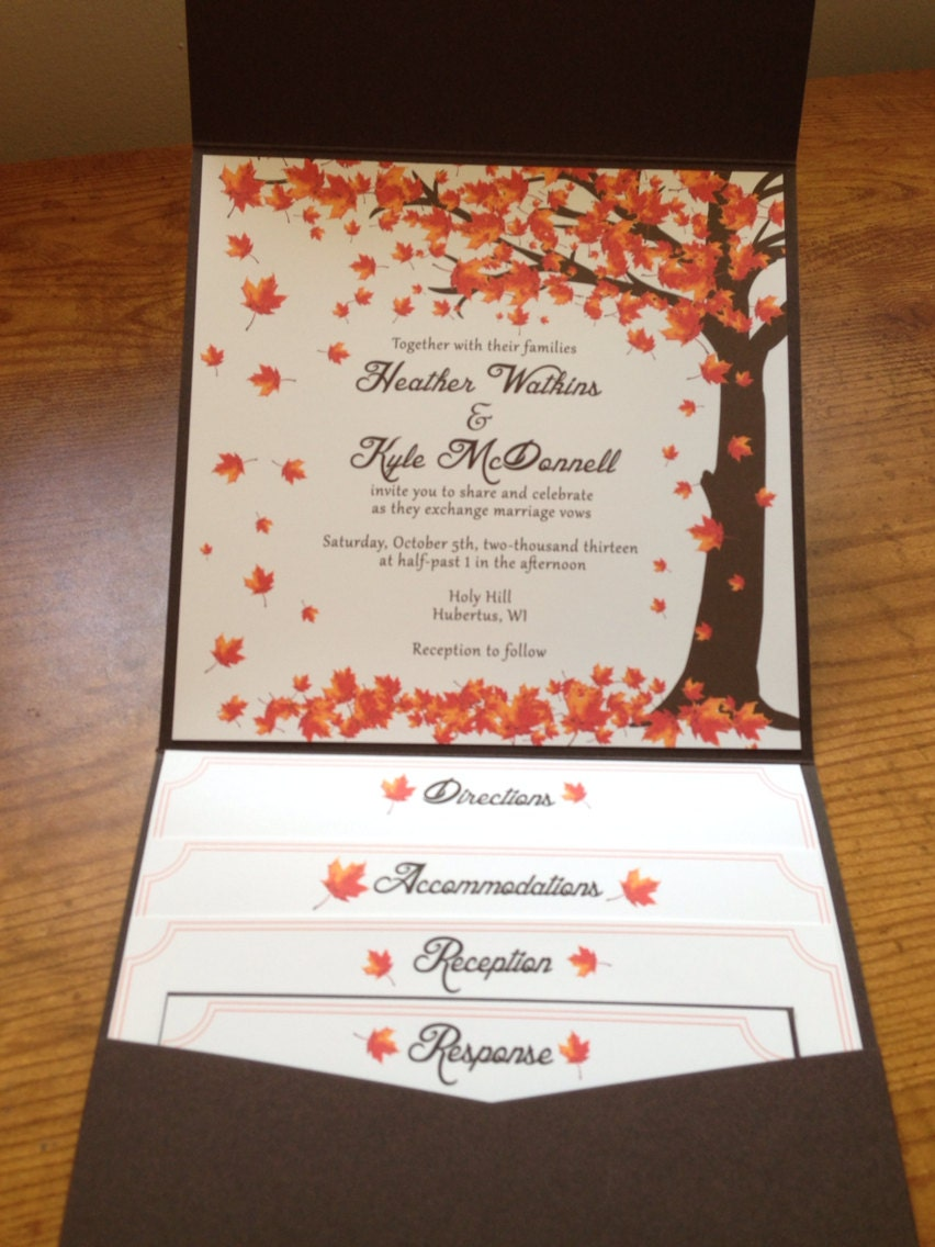 Fall Themed Wedding Quotes