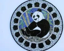 Popular Items For Round Stained Glass On Etsy