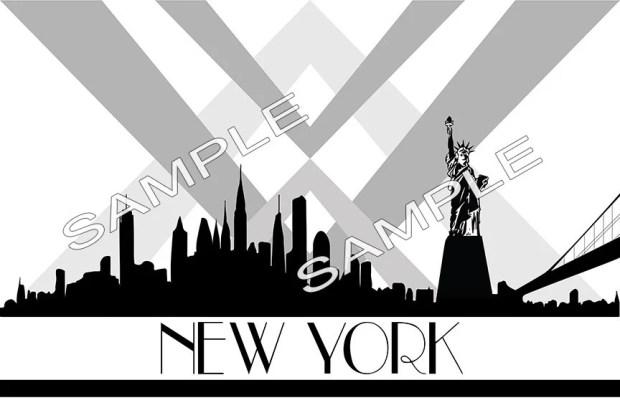 New York, Silhouette, Sky...