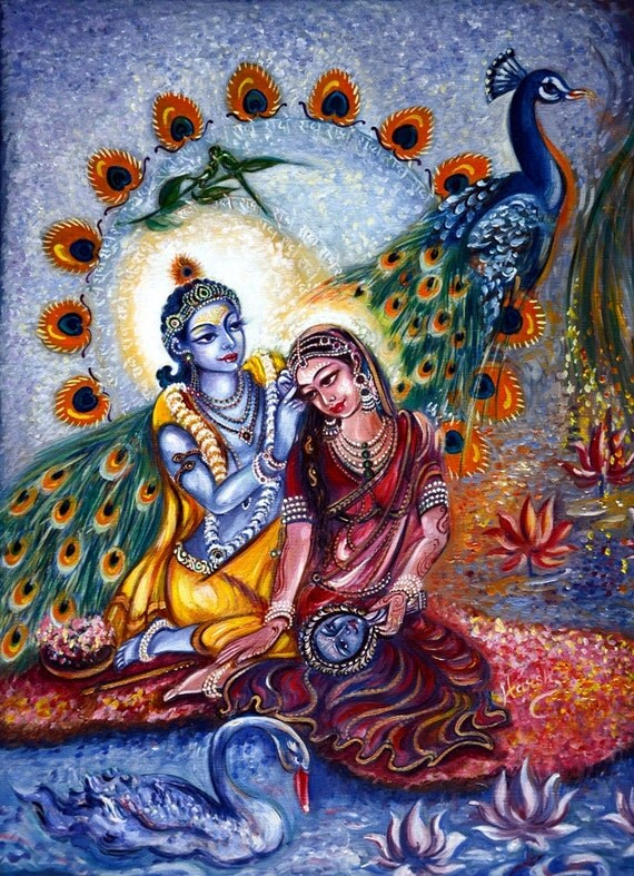 Radhe Krishna Love Quotes