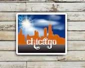 Chicago Skyline Printable...