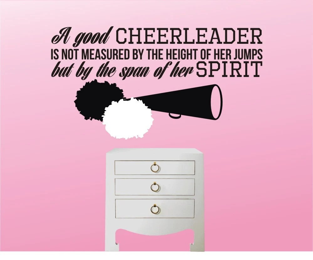 Cheer Flyer Quotes