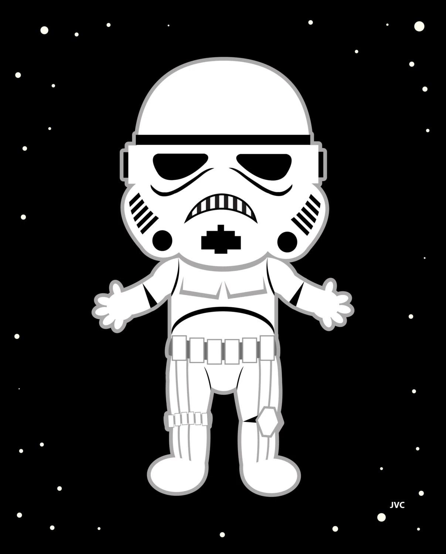 Baby Nursery Stormtrooper Star Wars 8 By 10 By Jasminevictoria